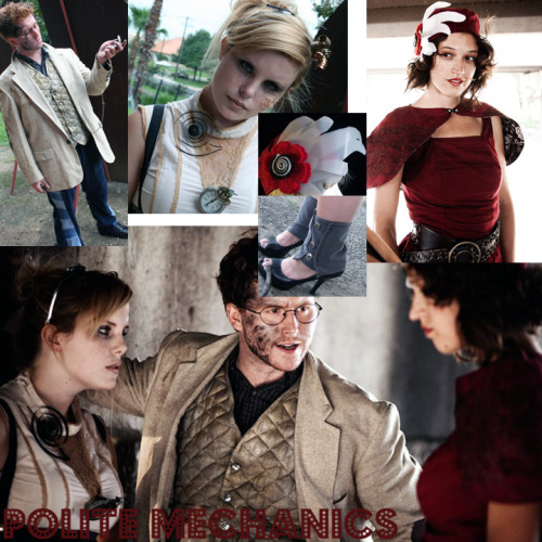 Costumes I designed and made for a Film called Polite Mechanic. All costumes where made from upcycled materials.  www.ShinshayOriginals.com