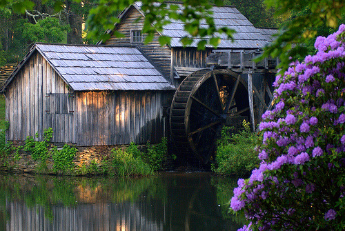 whimsicalraindropcottage:  Mabry Mill (by leaders)