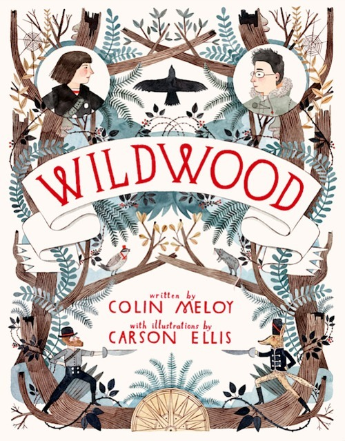 This is going to be amazing, I keep thinking Colin Meloy needs to write a book because he has such wonderful lyrics and a way with words, and his wife does beautiful quirky illustrations.