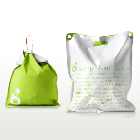 German designed Biomass bags. http://www.dezeen.com/2010/10/28/biomass-by-ahhaproject/