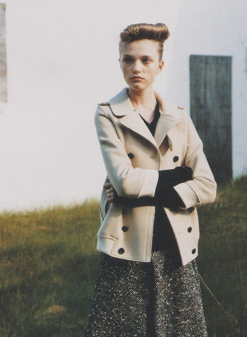 Vlada in Marc Jacobs shot by Nick Haymes for i-D