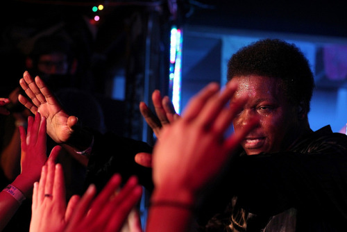 IMG_2570 on Flickr.Lee Fields & the Expressions burn down the Galaxy Barn at Pickathon 2011 in Happy Valley, Oregon. he sweat all over me.  more please.
