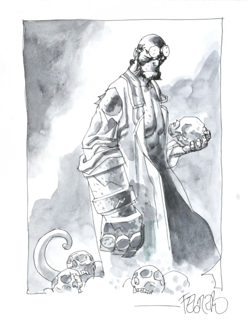awyeahcomics:  Hellboy by Duncan Fegredo
