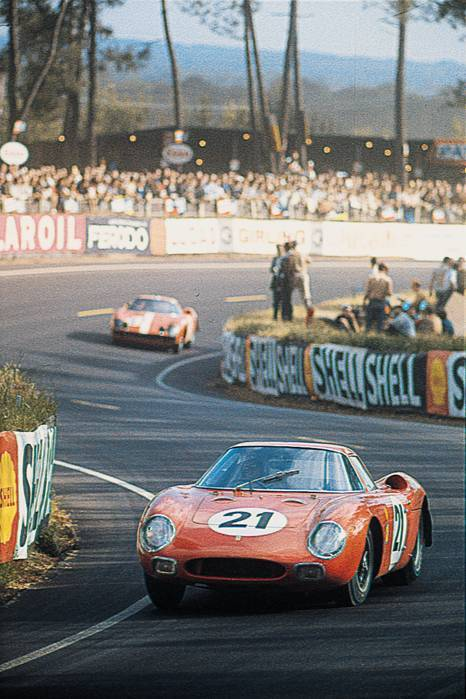 Maston Gregory/Jochen Rindt Ferrari 250 LM at Le Mans 1965