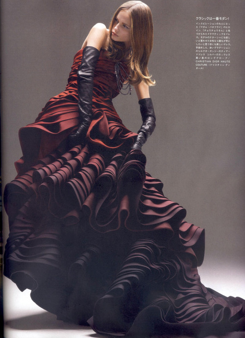 Christian Dior Haute Couture     Vogue Japan