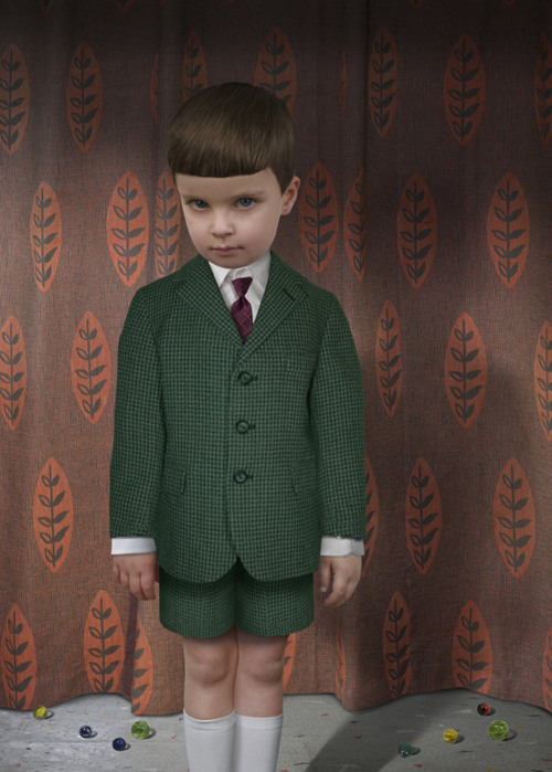 melisaki:  Souvenir #1 photo by Ruud van Empel, 2008  This is the last thing you see before he murders you with his mind.