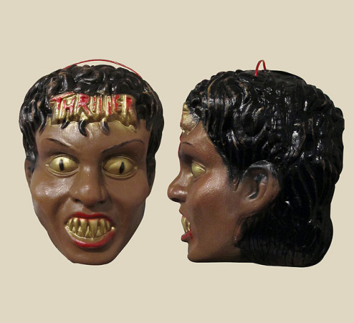 cryptofwrestling:  Michael Jackson - Thriller ghoul head (Mexico)