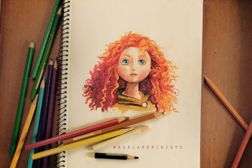 karlaespiritu:  Disney Pixar Brave (The Bear and the Bow)