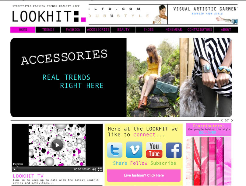 "The LookHit ""The LookHit is made up of several dedicated streetstyle bloggers and fashion beauty enthusiasts. This team is one from many different backgrounds and lifestyles all united by their one true passion- Fashion! The LookHit is dedicated to restoring fashion to a place of reality and pure creativity. The LookHit is more movement than it is a web site, focused on promoting and exposing the raw style talent of countless photographers, stylists, models, makeup artists, hair dressers and buyers.             This is a place to live breathe eat and absorb fashion,style and culture. With fashion insiders and outsider working together we can produce the most realistic scope of this ever-changing world. Here at the LookHit Fashion colors life.""   Check them out: The LookHit   Follow on Twitter: @TheLookHit"