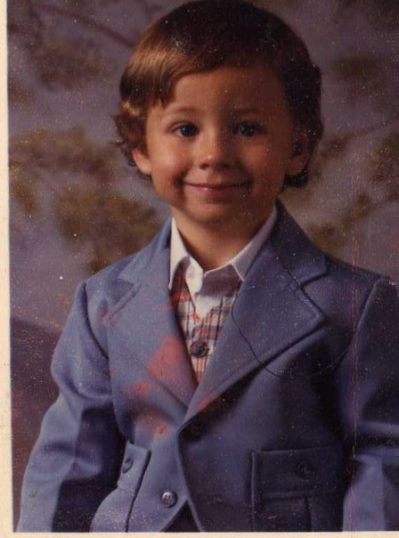 Hipster Toddler loves to wear a suit. (PS That's actually me circa 1983)