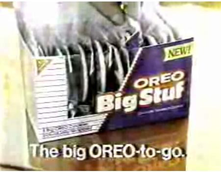 imremembering:  Big Stuf Oreo Source: Flickr  I so want these and Wacky Wafers to come back.