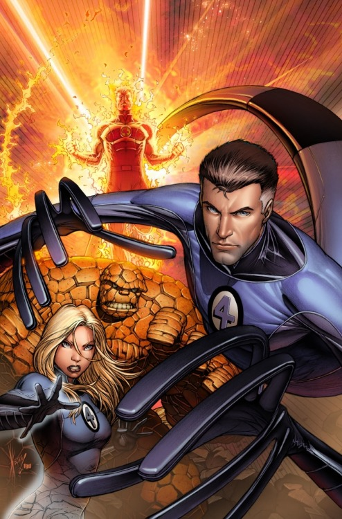 The Fantastic Four by Dale Keown