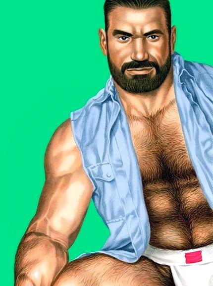 Thursday&#8217s &#8220HOMO COMICS&#8221 cum with sum Muscle Bear Glory&#8230WOOF!!!