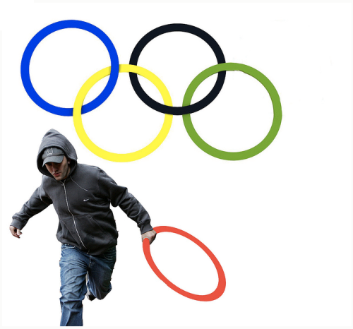 epic4chan:  new logo for the London Olympics  画