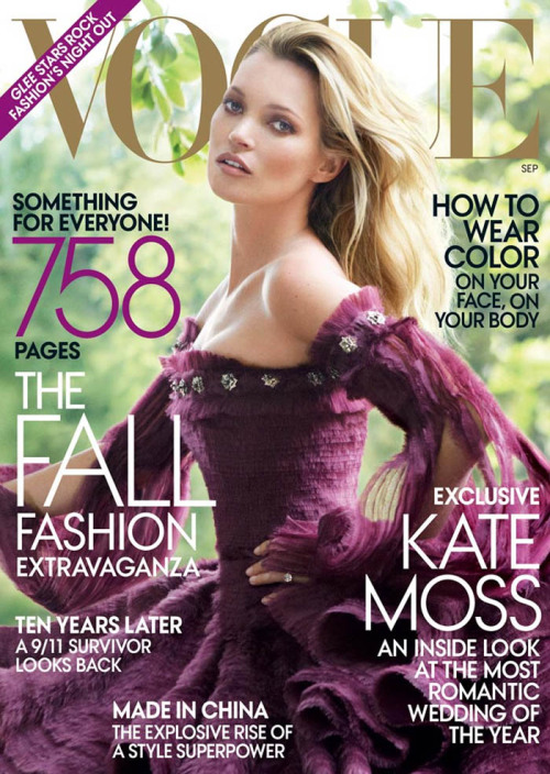 Kate Moss - Vogue US September 2011