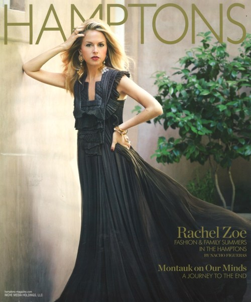 "rzrachelzoe:  So honored to be on the cover of Hamptons Magazine (and wearing Givenchy no less!). I have been vacationing there with close friends and family for as long as I can remember—no summer would never be complete without it.  xoRZ  You know what's funny? Pretending Rachel Zoe is a robot and reading ""xoRZ"" as a word Robot Rachel would say to end her robot statements. ""I DIE. XORZZZZZ."" ""FASHION. XORZZZZ."" ""THIS. IS. BANANAS. XORZZZZZZ."" ""I AM A ROBOT MOTHER NOW. XORZZZZ."""