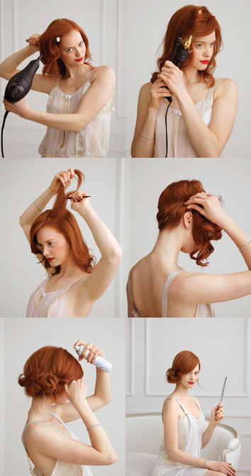 berlinwedding:  (via A CUP OF JO: Holiday hair)