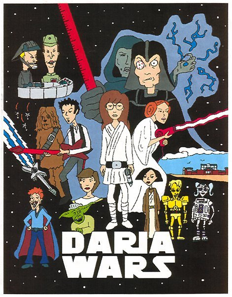 Daria Wars mashup, by this guy.