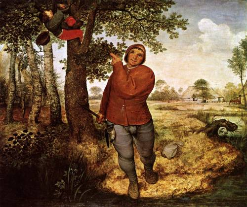The Peasant and the Birdnester by Pieter Bruegel the Elder, 1568, oil on panel, 59 x 68 cm, Kunsthistorisches Museum, Vienna disturbthebookmites:  The Peasant and the Birdnester, Pieter Bruegel the Elder, 1568.