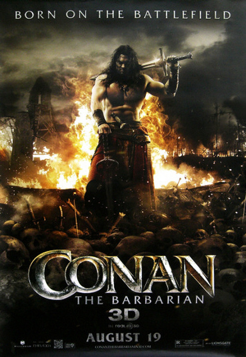 New 'CONAN THE BARBARIAN' Poster