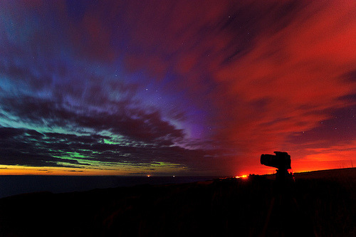 saddest-summer: Summer Aurora 05/08/2011, Moray, Scotland (Kenny Muir)
