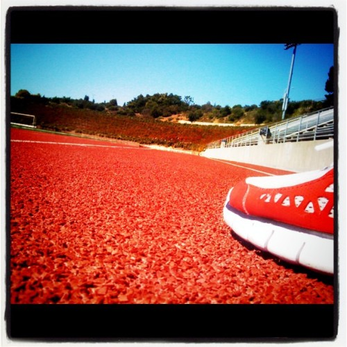 Condition part 2: track 4 miles (Taken with Instagram at California State University, East Bay)