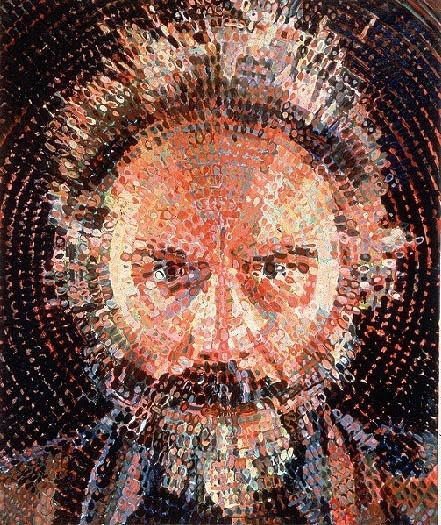 cwrebellion:  Chuck Close - Lucas