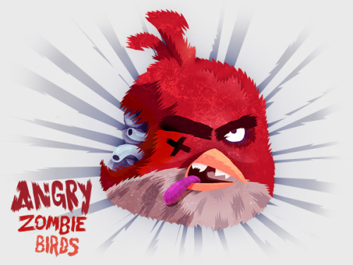 (via Angry Zombie Birds | ForeverGeek) Of course someone already had this.