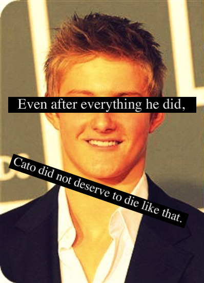 and-let-the-hunger-games-begin:  Cato had the most gruesome death of the whole book.