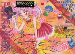 """Panorama Magic"" by Cherry Moon, published 1995. Chibi Usa looks like definition of the word ""madness"".."