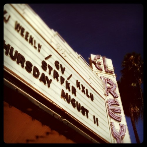 #STRFKR is in the building. #elreytheatre #elrey (Taken with Instagram at El Rey Theatre)