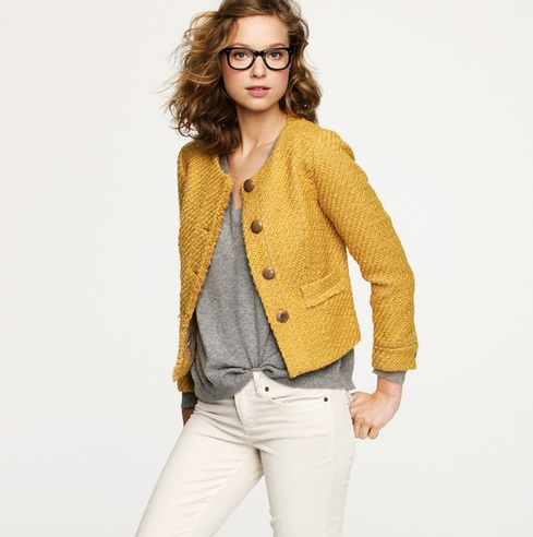 lola-jane:  VINTAGE TWEED JACKET // $198 by J.CREW  i want to look like this on an ordinary day in my life.