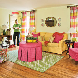 lemonadeandivy:  prep decorating decorum ~ don't be afraid of color… as long as it includes pink, green & yellow!