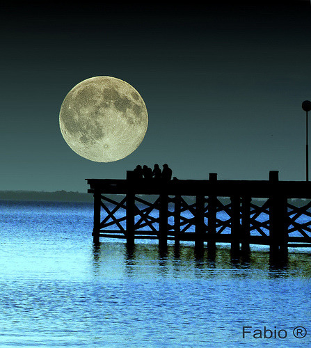 Full moon  By Fabio ®