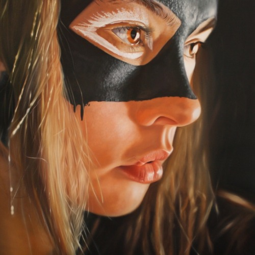 Sexy Superhero Paintings by http://www.jkbfletcher.com/