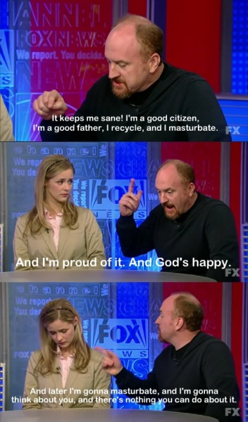 God bless Louie CK.