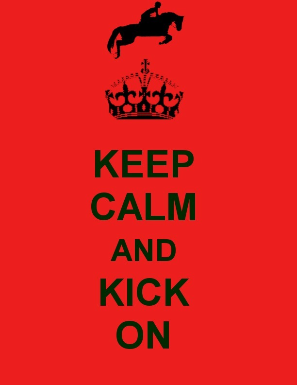 thefoxrider:  Keep Calm, Kick On design and everything by yours truly. I can take color requests :D  ALWAYS relevant!