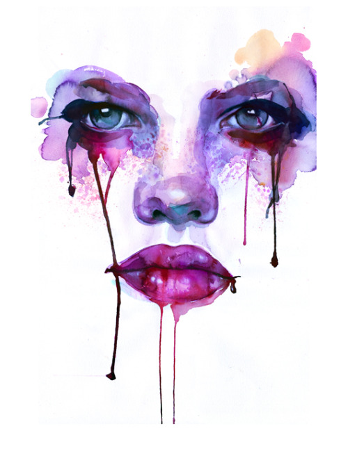 these water color paintings by Marion Bolognesi are amazing