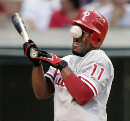 Much like Henry Rollins, Philadelphia Phillies shortstop Jimmy Rollins used to live in the shed behind Greg Ginn's parents' house before joining the Major League.
