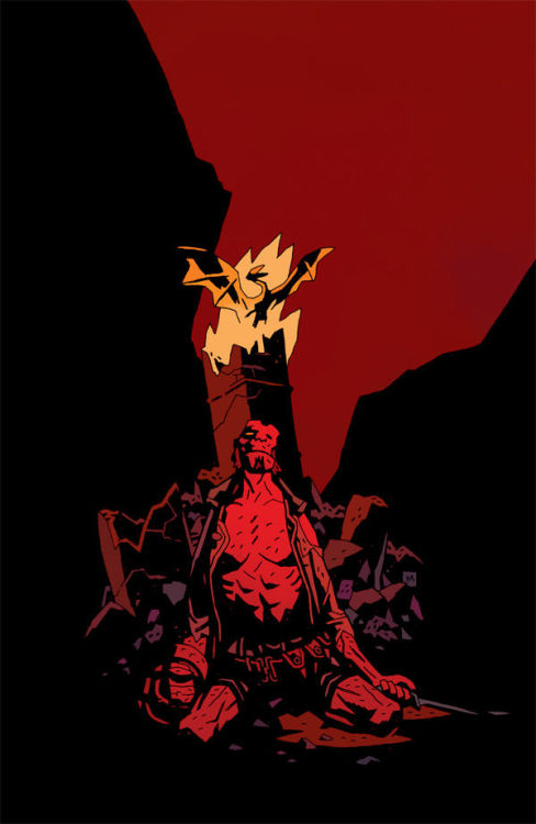 So I didn't get Hellboy: The Fury #3 in the mail yet, but I read an obvious spoiler in my e-mail this morning that killed it for me (no pun intended). Never felt so bummed about a fictional thing since Big Daddy dies in Kick-Ass.
