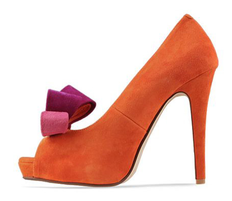 As awesome as possible Orange P1,400  Heel height: 11cm Platform height: 2cm Color: orange, blue Size: 35 to 39 Sole material: rubber Upper material: matte  View sizing guide here Order now