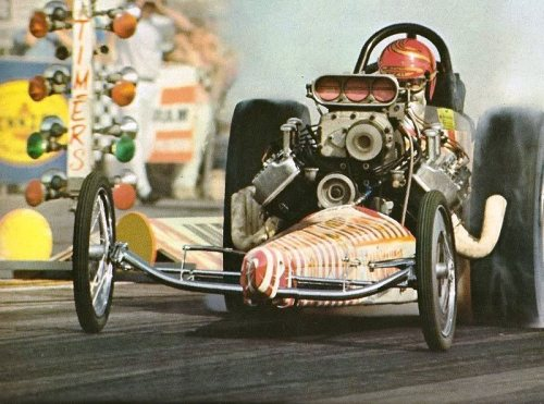 Don Prudhomme in the Shelby Super Snake