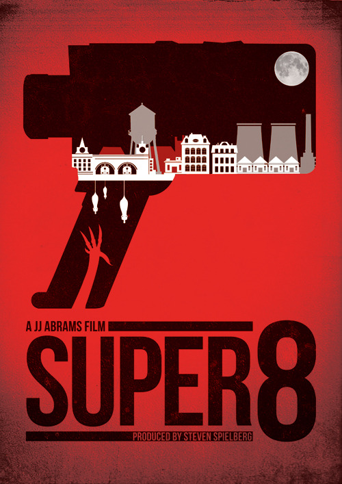 minimalmovieposters:  Super 8 by Needle Design AVAILABLE HERE