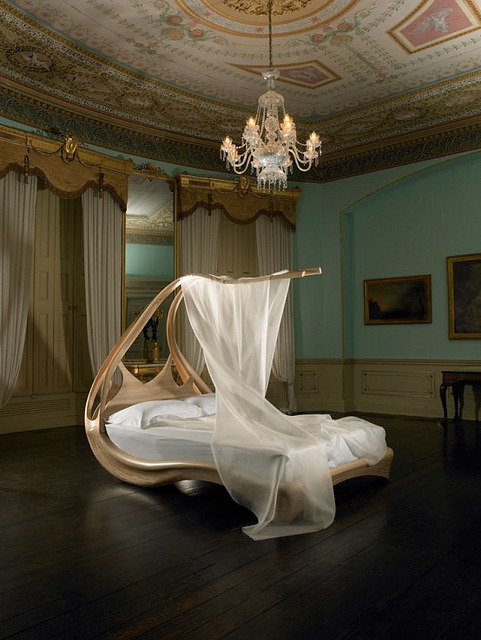 Design Inspiration: Luxury Canopy Bed by Joseph Walsh by Design Inspiration Gallery on Flickr.