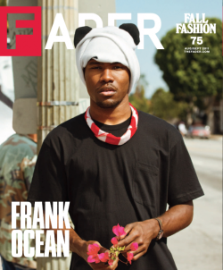 thenword:  Getting Faded R&B's man of the moment Frank Ocean will be Fader magazine's fall fashion cover star, cementing his giant steps to taking over the music scene right now. Since signing to Def Jam and releasing his mixtape Nostalgia, ULTRA, everyone's been wanting to work with the singer/songwriter, included heavy hitters Kanye and Jay Z. You can hear Ocean on not one, but TWO tracks on the Watch The Throne album.