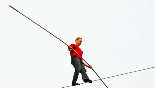 Should Nik Wallenda be allowed to cross Niagara Falls on a tightrope?The high-wire act would be the first in more than a century — if government officials let him do it.