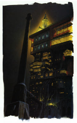 From The Art of Spirited Away