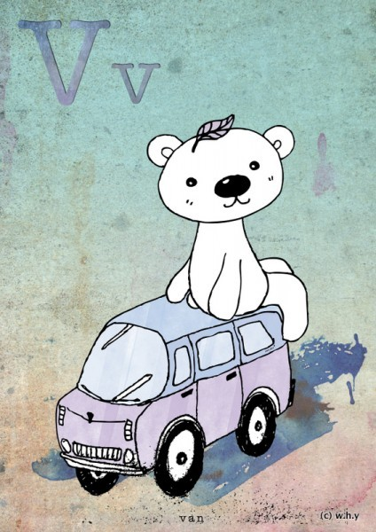 (via ABAD: Day 52 – Van Bear)