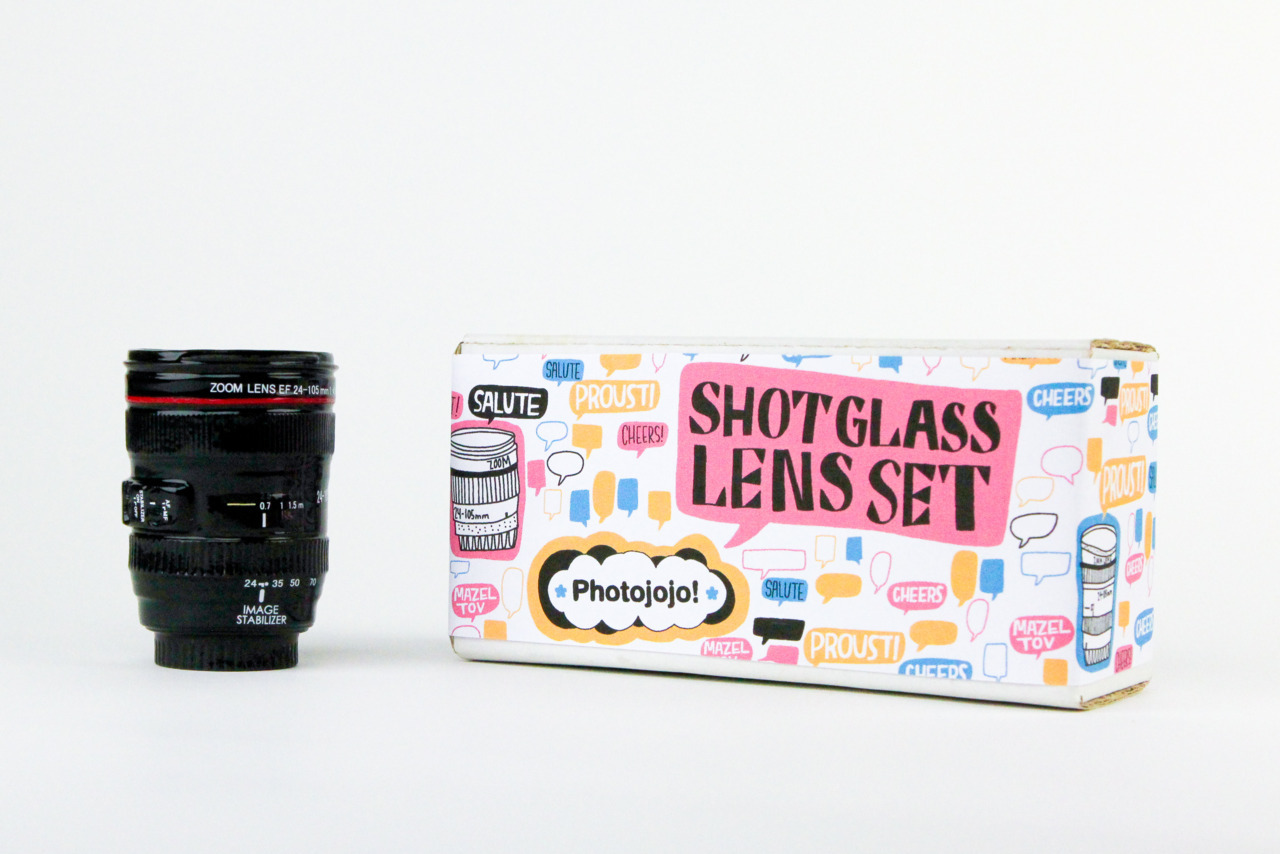 photojojo:  You can hold your liquor, and now your lens can, too. Meet the Shot Glass Lens! It's a mini ceramic lens replica that you can drink out of. The Shot Glass Lens Set  OH MY GOD!!!!!!!!!!!!!!!