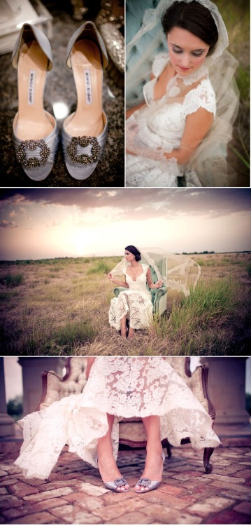 Find more pictures here: http://www.stylemepretty.com/2011/08/12/rustic-bridal-session-by-kelly-kate-photography/